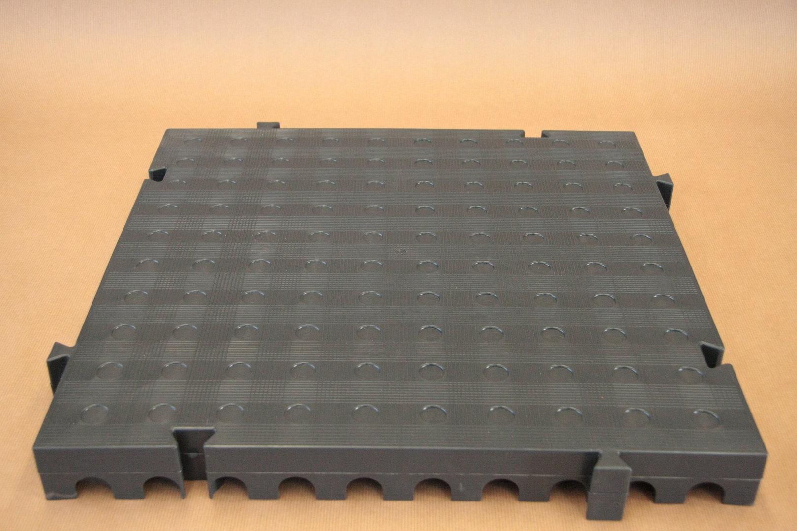 Suelo pl stico losetas de goma suelo portable y desmontable - Losetas para exterior ...